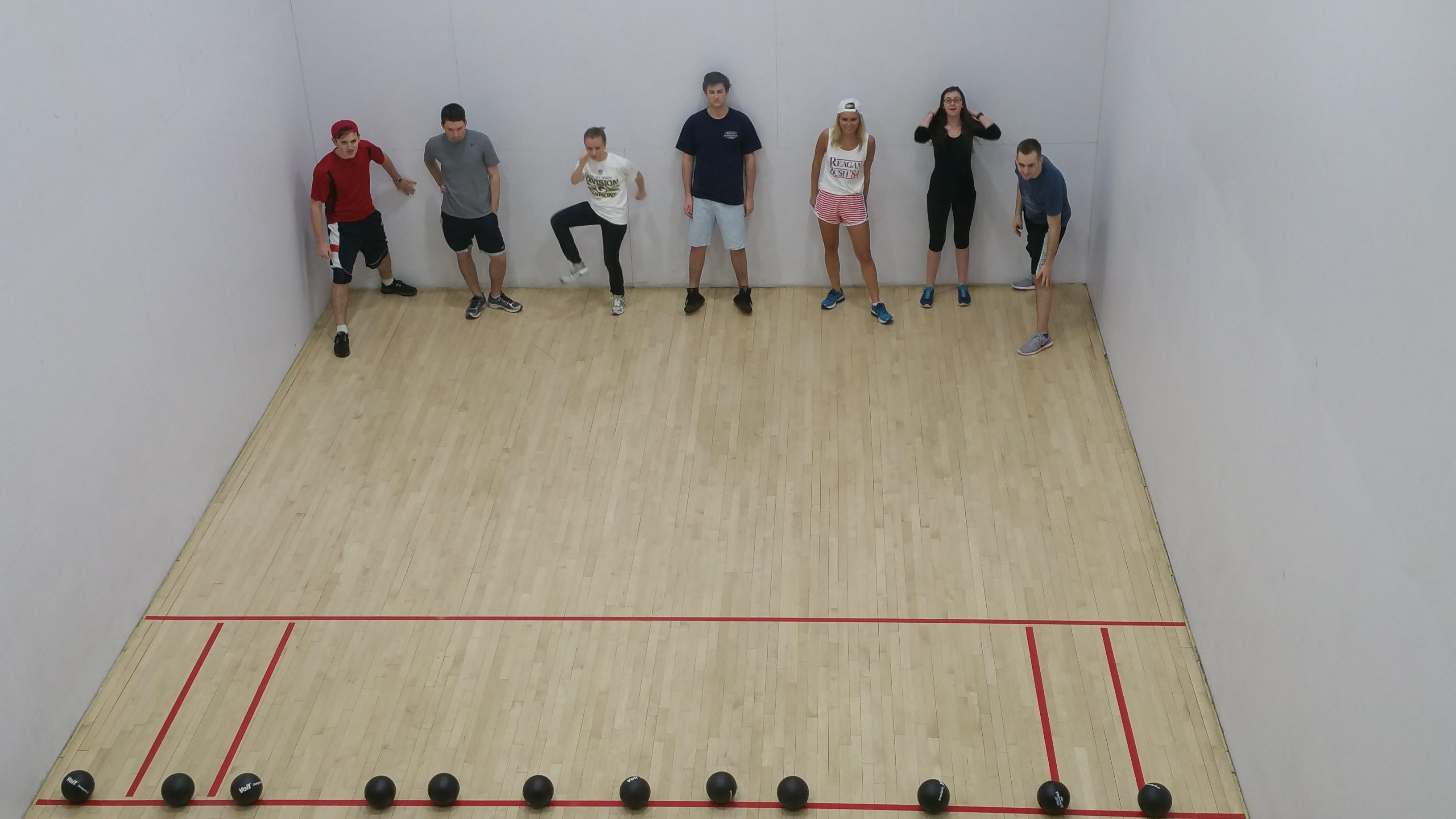Comparison essay on racquetball