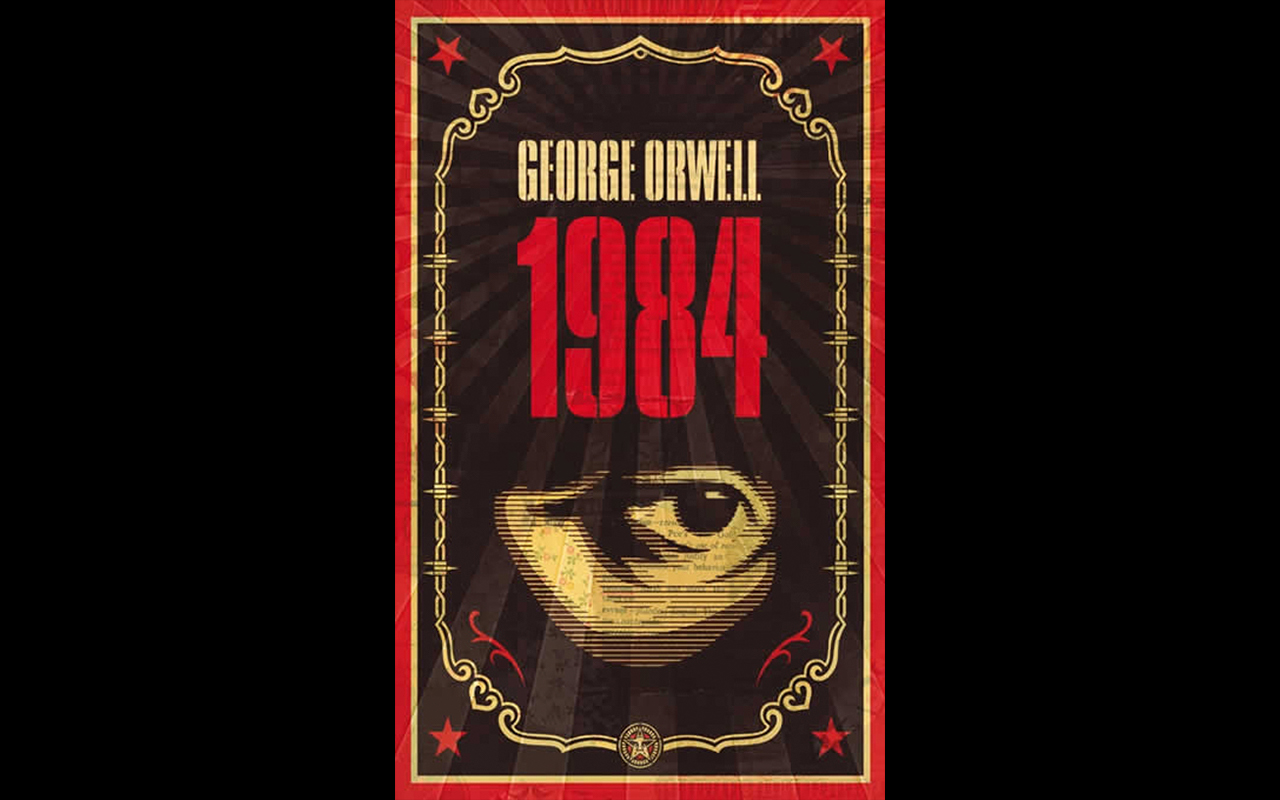Cover of George Orwell's novel 1984