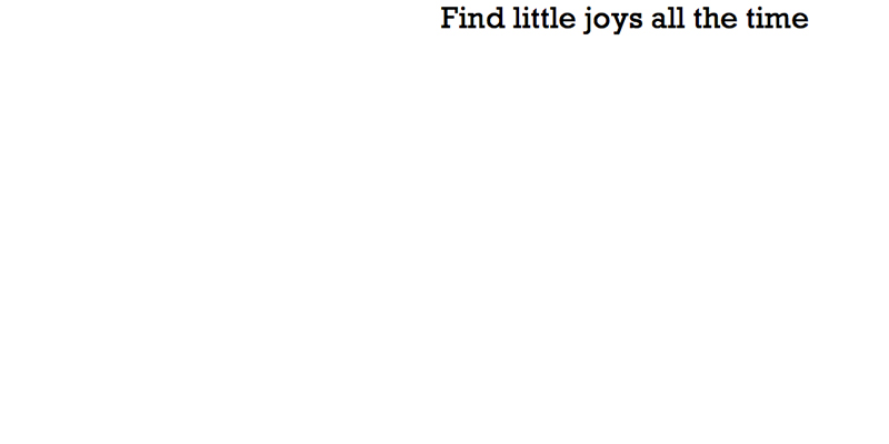 find little joys