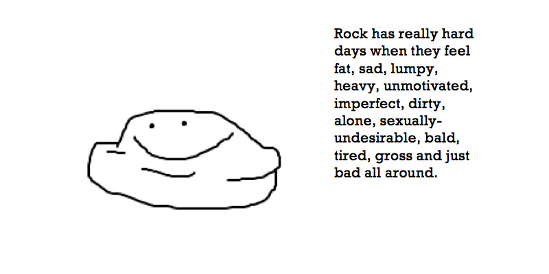 rock has really hard days