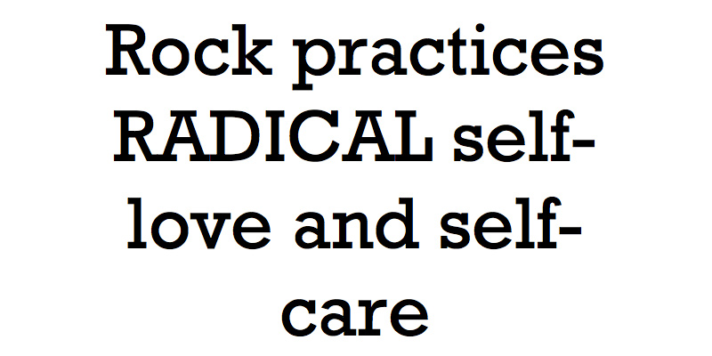 rock practices radical
