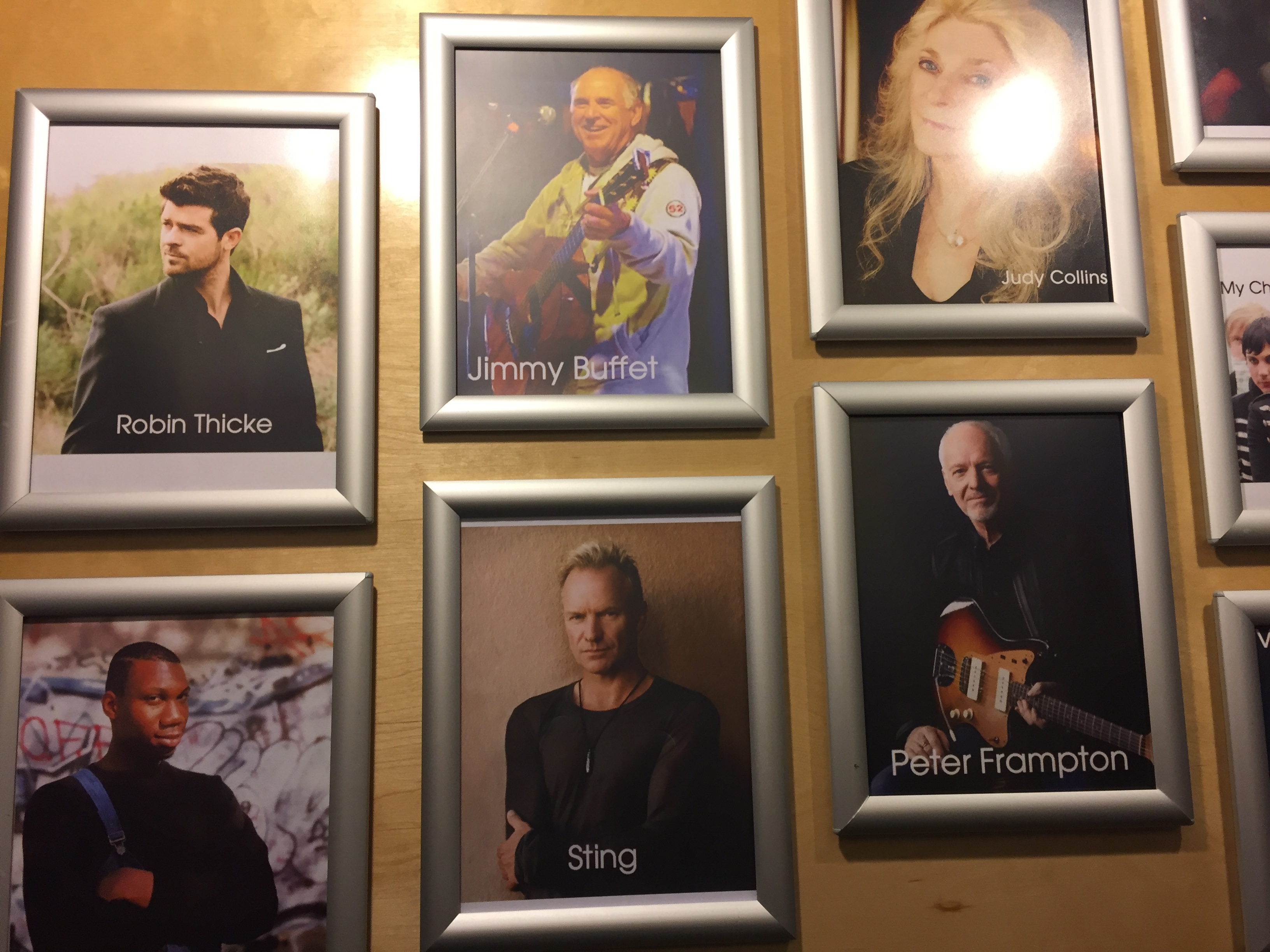 Hall of Fame at Music Garage, . (Brendan O'Brien, 14 East)