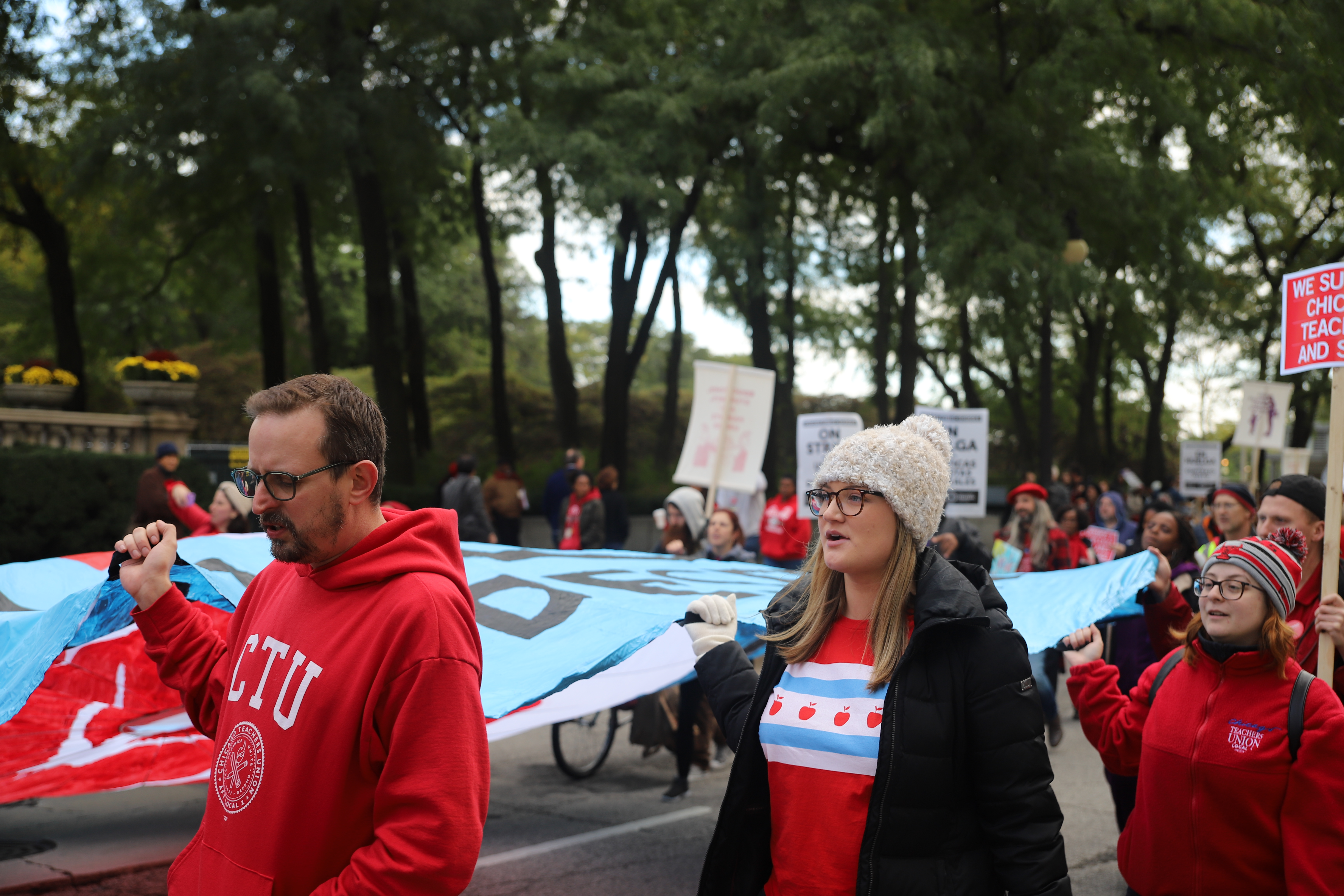 CTU Rally and March